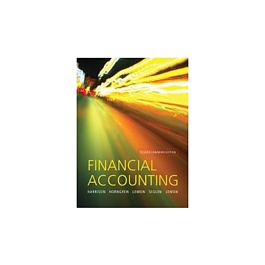 Financial Accounting Fourth Edition, New Book (9780131384330)