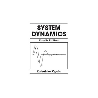 System Dynamics (4th Edition), New Book (9780131424623)