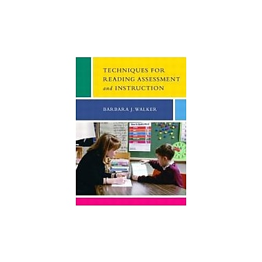 Techniques for Reading Assessment and Instruction, Used Book (9780131913608)