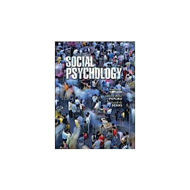 Social Psychology (12th Edition), New Book (9780131932814)