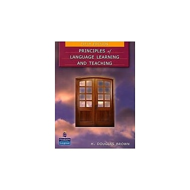 Principles of Language Learning and Teaching (5th Edition), New Book (9780131991286)