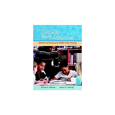 Teaching Young Adolescents: A Guide to Methods and Resources for Middle School Teaching (5th Edition), New Book (9780131996175)