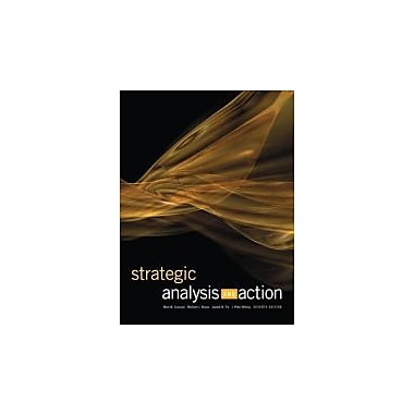 Strategic Analysis and Action (7th Edition), Used Book (9780132061421)