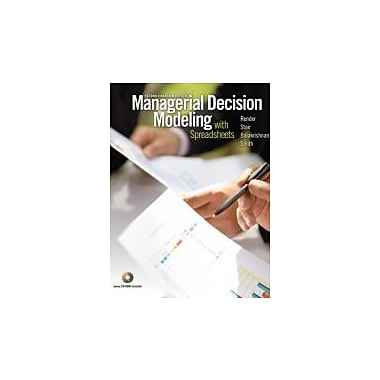 Managerial Decision Modeling with Spreadsheets, Second Canadian Edition (2nd Edition), Used Book (9780132080132)