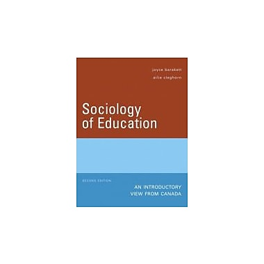 Sociology of Education: An Introductory View from Canada (2nd Edition), Used Book (9780132255493)