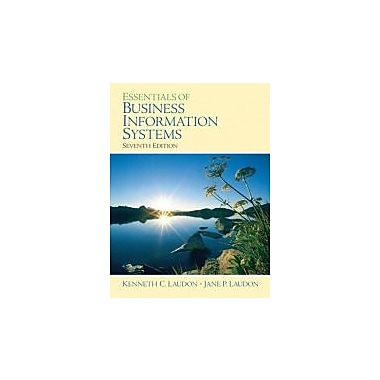 Essentials of Business Information Systems (7th Edition), Used Book (9780132277815)