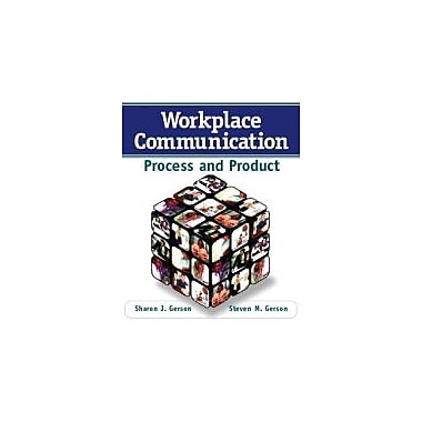 Workplace Communication: Process and Product, Used Book (9780132288088)