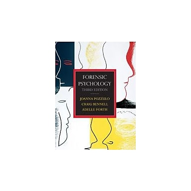 Forensic Psychology, Third Edition with MyPsychKit (3rd Edition), Used Book (9780132315609)