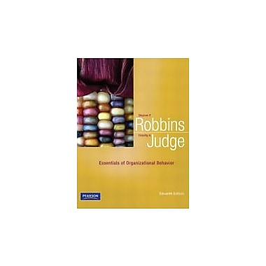 Essentials of Organizational Behavior (11th Edition), New Book (9780132545303)