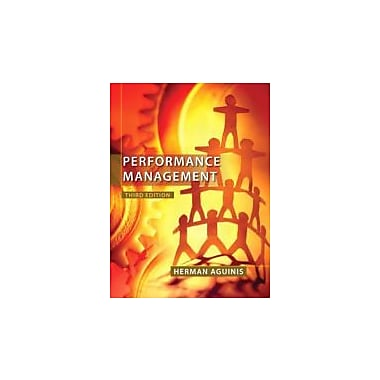 Performance Management (3rd Edition), Used Book (9780132556385)