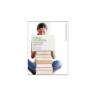 College Accounting: A Practical Approach, Eleventh Canadian Edition with MyAccountingLab (11th Edition)