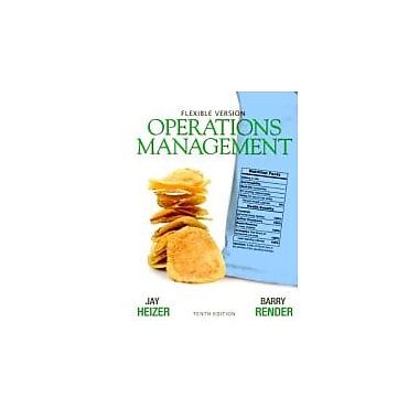 Operations Management Flexible Version with Lecture Guide & Activities Manual Package (10th Edition), Used Book (9780132577069)