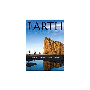 Earth: An Introduction to Physical Geology, Third Canadian Edition w/MyGeosciencePlace, New (9780132611114)