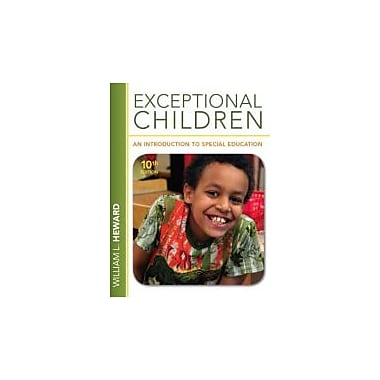 Exceptional Children: An Introduction to Special Education (10th Edition), New Book (9780132626163)