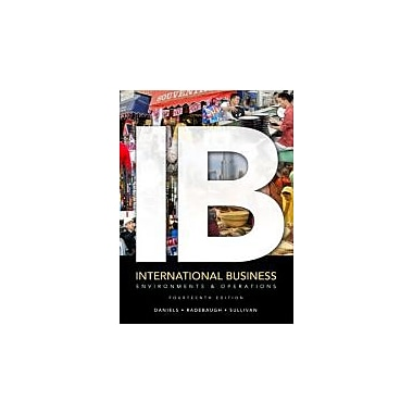 International Business: Environments & Operations (14th Edition), Used Book (9780132668668)