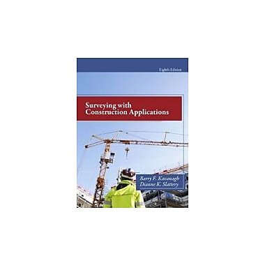 Surveying with Construction Applications (8th Edition), New Book (9780132766982)