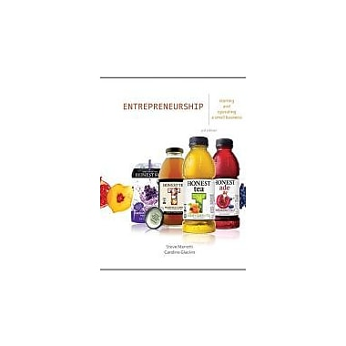 Entrepreneurship: Starting and Operating a Small Business (3rd Edition), Used Book (9780132784085)