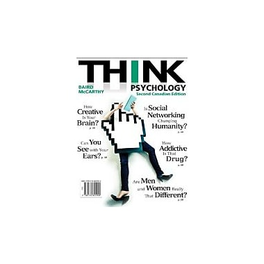 THINK Psychology, Second Canadian Edition (2nd Edition), New Book (9780132825900)