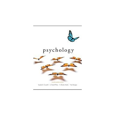 Psychology, Second Canadian Edition with MyPsychLab (2nd Edition), New Book (9780132881005)