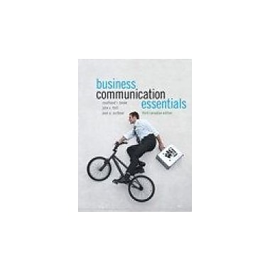 Business Communication Essentials, Third Canadian Edition with MyCanadianBusCommLab (3rd Edition), New Book (9780132881029)