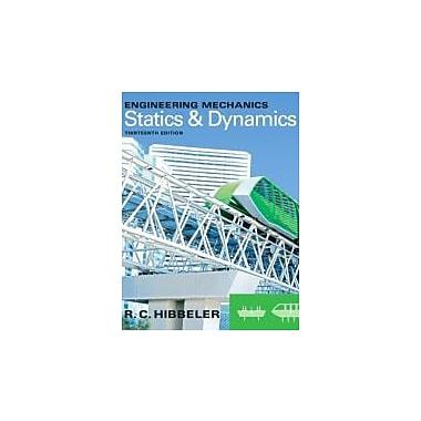 Engineering Mechanics: Statics & Dynamics (13th Edition), New Book (9780132915489)