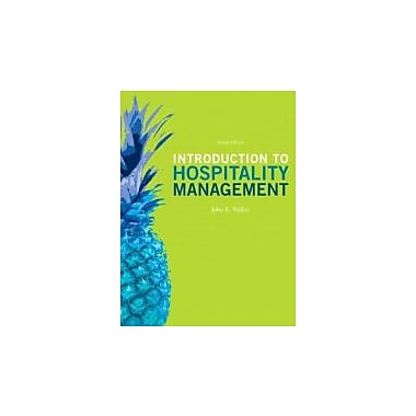 Introduction to Hospitality Management (4th Edition), New Book (9780132959940)