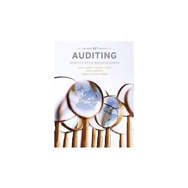 Auditing: The Art & Science of Assurance Engagements, Twelfth Canadian Edition w/MyAccountingLab, Used (9780133098235)