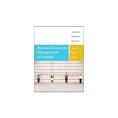 Human Resources Management in Canada, Twelfth Canadian Edition with MyManagementLab (12th Edition), Used Book (9780133125313)