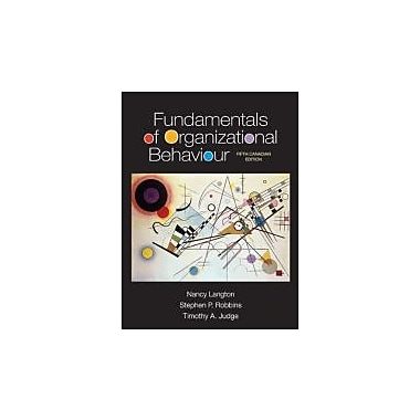 Fundamentals of Organizational Behaviour, New (9780133356465)