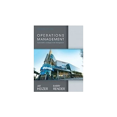 Operations Management and Student CD, New Book (9780133408010)