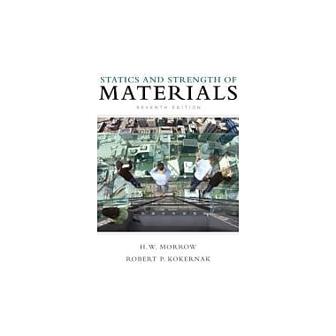 Statics and Strength of Materials (7th Edition), Used Book (9780135034521)