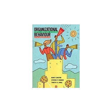 Organizational Behaviour: Concepts, Controversies, Applications, 5th Canadian Edition w/MyOBLab, Used (9780135084083)