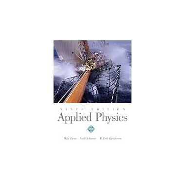 Applied Physics (9th Edition), New Book (9780135157336)