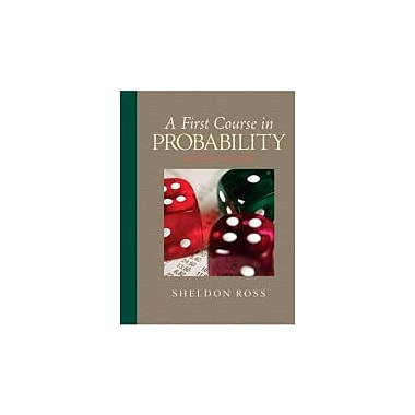 A First Course in Probability (8th Edition), New Book (9780136033134)