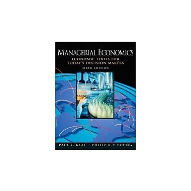 Managerial Economics (6th Edition), New Book (9780136040040)