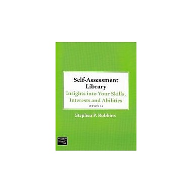 Self Assessment Library 3.4: Insights Into Your Skills, Interests & Abilities [With CDROM & Access Code], Used (9780136083764)