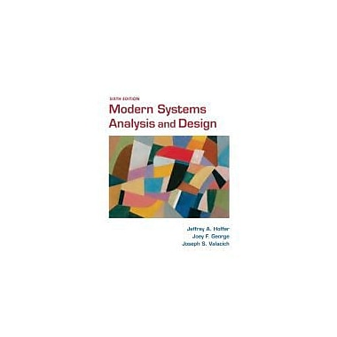 Modern Systems Analysis and Design (6th Edition), Used Book (9780136088219)