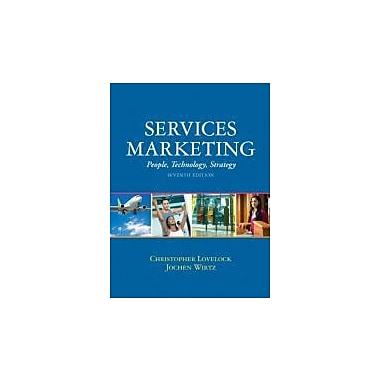Services Marketing (7th Edition), Used Book (9780136107217)