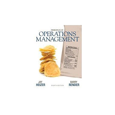 Principles of Operations Management (8th Edition), Used Book (9780136114468)