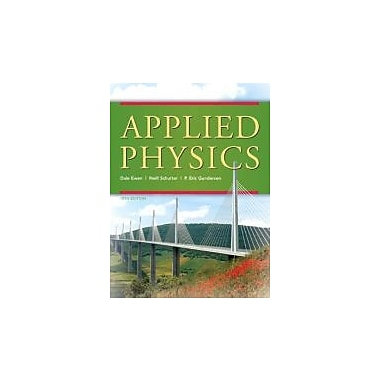 Applied Physics (10th Edition), New Book (9780136116332)