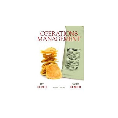 Operations Management (10th Edition), New Book (9780136119418)