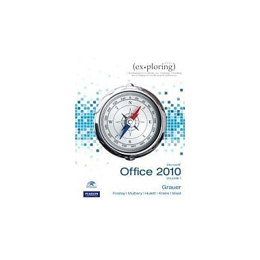 Exploring Microsoft Office 2010, Vol. 1 (Book & CD), New Book (9780136122326)