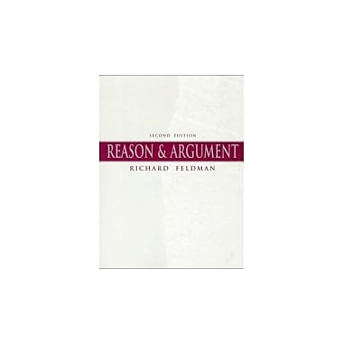 Reason & Argument (2nd Edition), New Book (9780136246022)