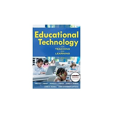 Educational Technology for Teaching and Learning (4th Edition), New Book (9780137051595)