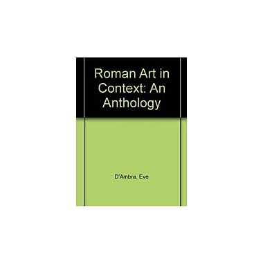 Roman Art In Context: An Anthology, Used Book (9780137818082)