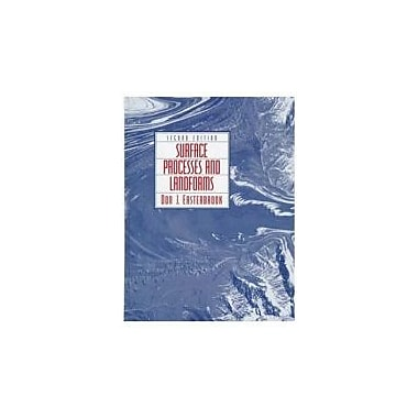 Surface Processes and Landforms, 2nd Edition, New Book (9780138609580)