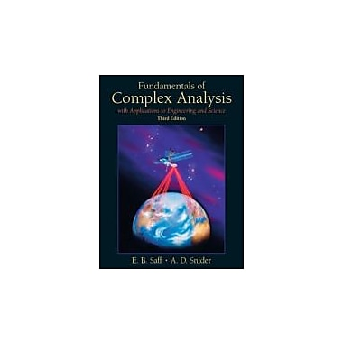 Fundamentals of Complex Analysis w/Applications to Engineering, Science, and Mathematics, Used (9780139078743)