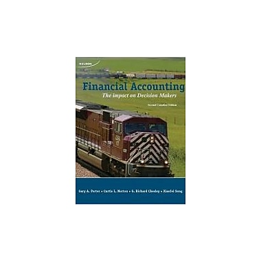 CDN ED Financial Accounting: The Impact On Decision Makers Student Textbook, New Book (9780176104450)