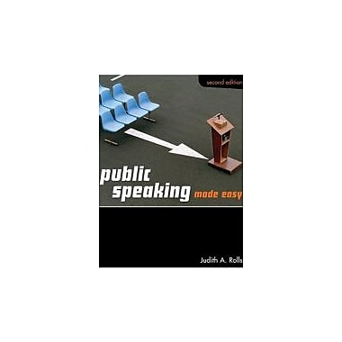 Public Speaking Made Easy, New Book (9780176406998)