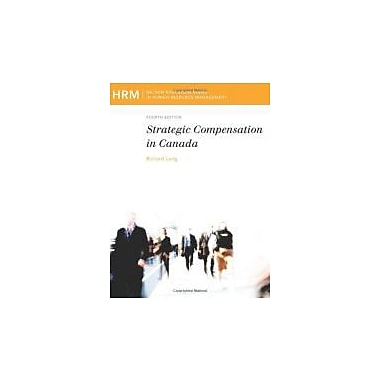 Compensation in Canada, Used Book (9780176500139)